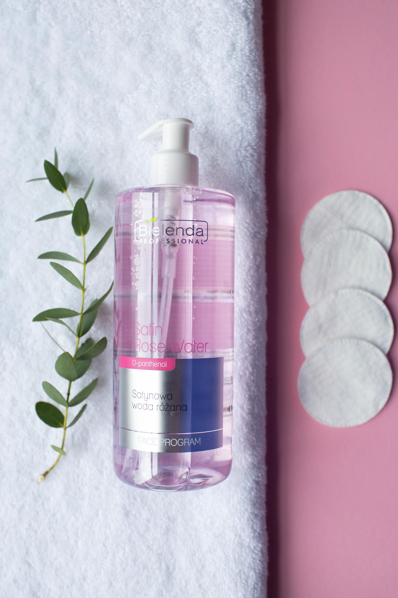CLEANSING Сатиновая розовая жидкость, 500 мл.