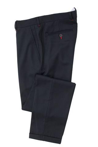 Классические брюки сильно зауженного кроя из смеси шерсти и вискозы