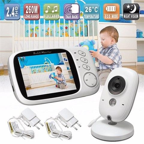 Видеоняня Видеоняня Smart Baby VB603 Видеоняня комплект беспроводной камеры видеонаблюдения и приемника с экраном Wireless baby monitor 3 2 дюйма