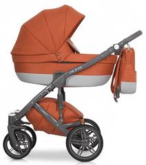Детская коляска Рант Aura 3 в 1 цвет 02 (серый/терракотовый)