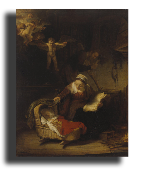"""Рембрандт Репродукция """" Рембрандт - Святое семейство"""" Х153.png"""