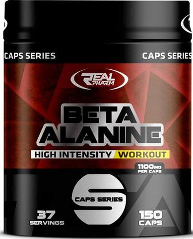 Бета-аланин Real Pharm Beta-Alanine Caps