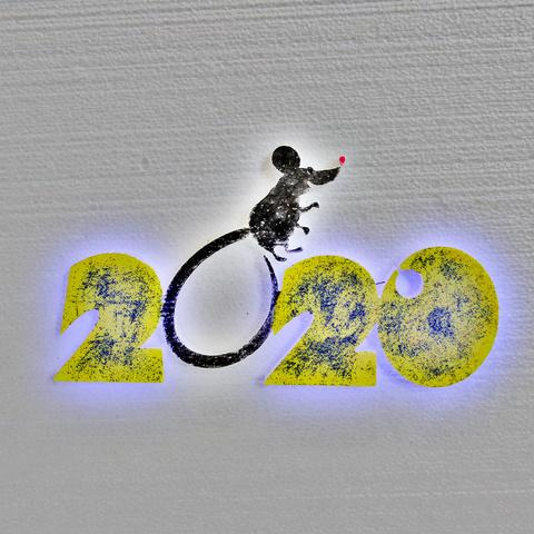 Декор из пенопласта на Новый год с подсветкой