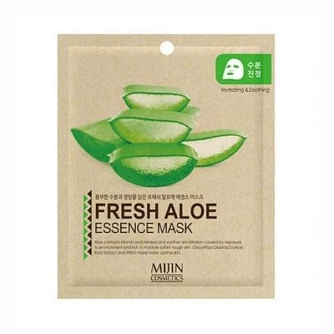Тканевая маска с экстрактом алоэ Mijin Fresh Aloe Essence Mask