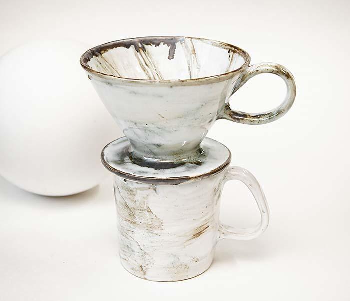 PUR117-1 Керамическая воронка  дриппер для кофе «Пуровер»