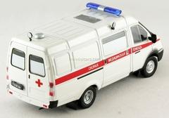 GAZ-32214 Gazelle Ambulance Russia 1:43 DeAgostini Service Vehicle #11