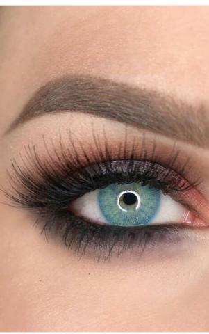 Аквамарин на светлых глазах