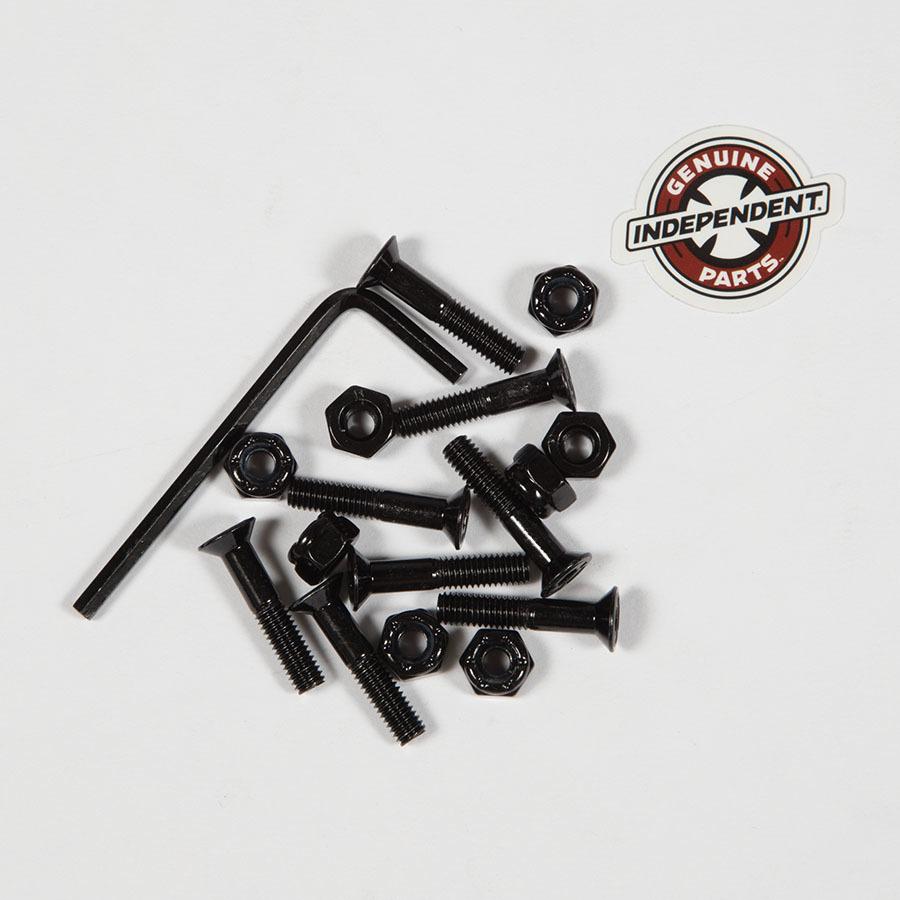 Болты для скейтборда INDEPENDENT Allen Hardware (Black)