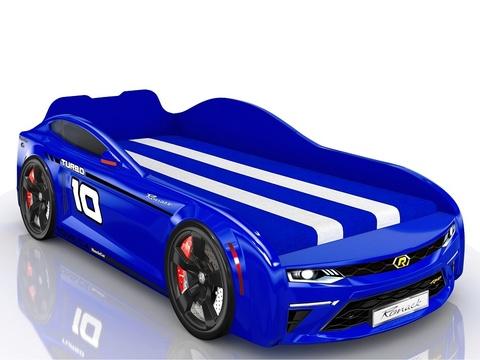 Кровать-машинка Romack Energy Синяя