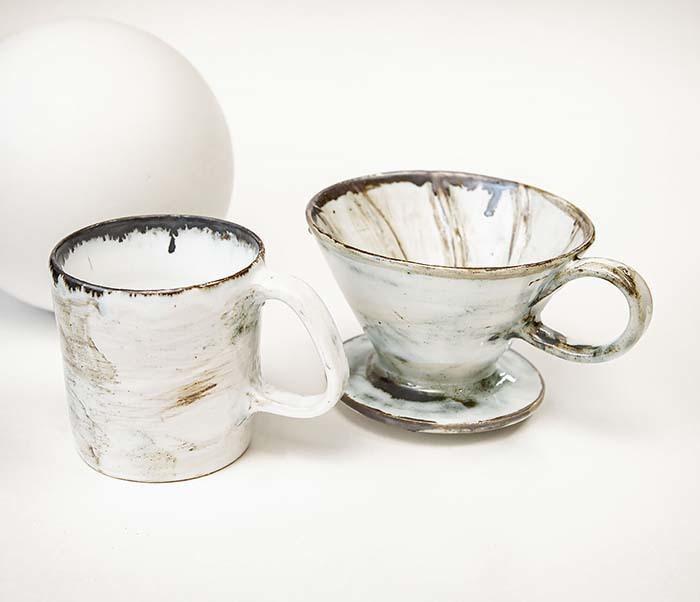 PUR117-1 Керамическая воронка  дриппер для кофе «Пуровер» фото 02