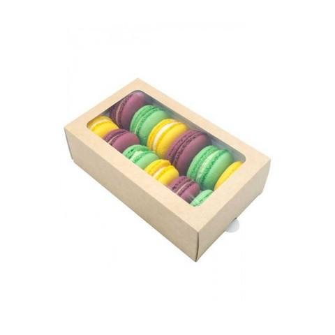 Коробочки для макаронс 18 х 11 х 5,5 см (12 макаронс)