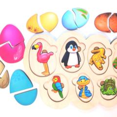 Рамка-вкладыш Кто в яйце ToySib 02010