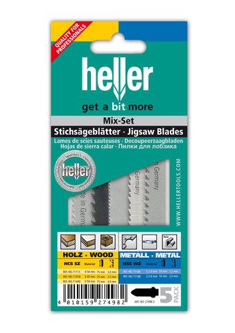 Набор пилок для лобзика Heller
