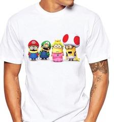 Супер Марио футболка Миньоны