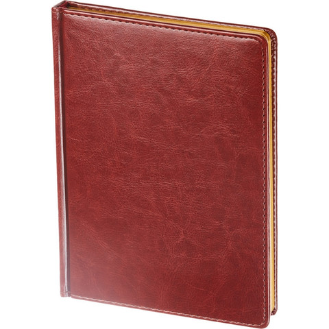 Ежедневник недат,коричнев,А5,145х205мм,136л,ATTACHE Sidney NEBRASKA