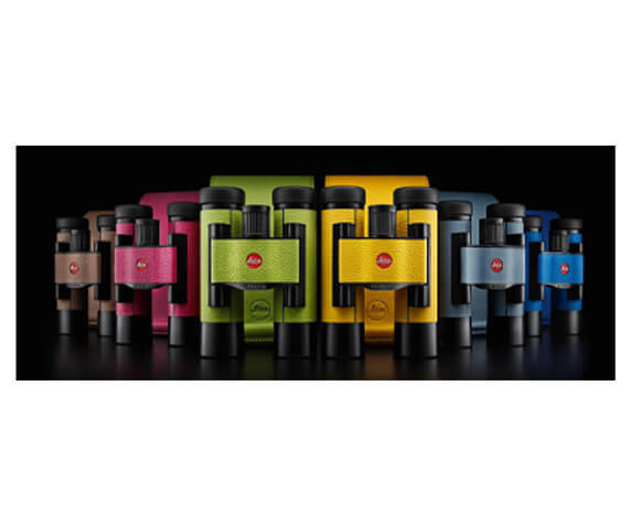 Бинокль Leica Ultravid Colorline 8x20 Cherry Pink - фото 3