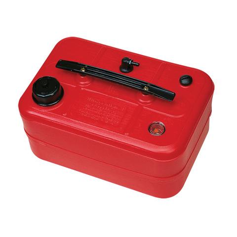 Бак топливный Nuova Rade с с датчиком и фильтром, 44 х 29,5 х 21 см, 25 л, красный