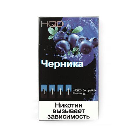 Сменный Картридж совместимый с JUUL HQD - Черника х4, 60 мг