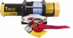 Лебедка T-max ATW PRO-2500 синтетический трос, тяговое усилие 1136 кг.