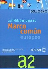 El Marco Actividades A2 Solucionario