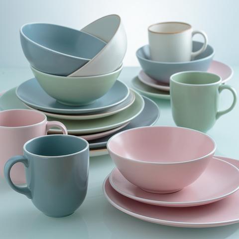Набор обеденной посуды Classic 12 предметов розовый