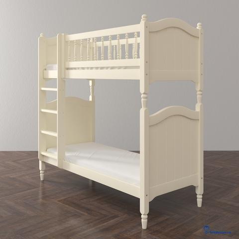 Высокая подростковая двухъярусная кровать Classic. Базовая комплектация