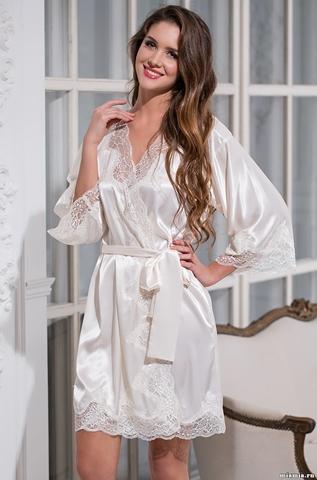 Халат женский шелковый MIA-Amore   ISABELLA  ИЗАБЕЛЛА 3183