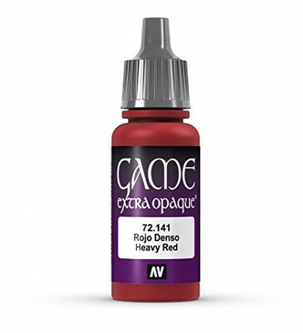 Game Color Heavy Red 17 ml.