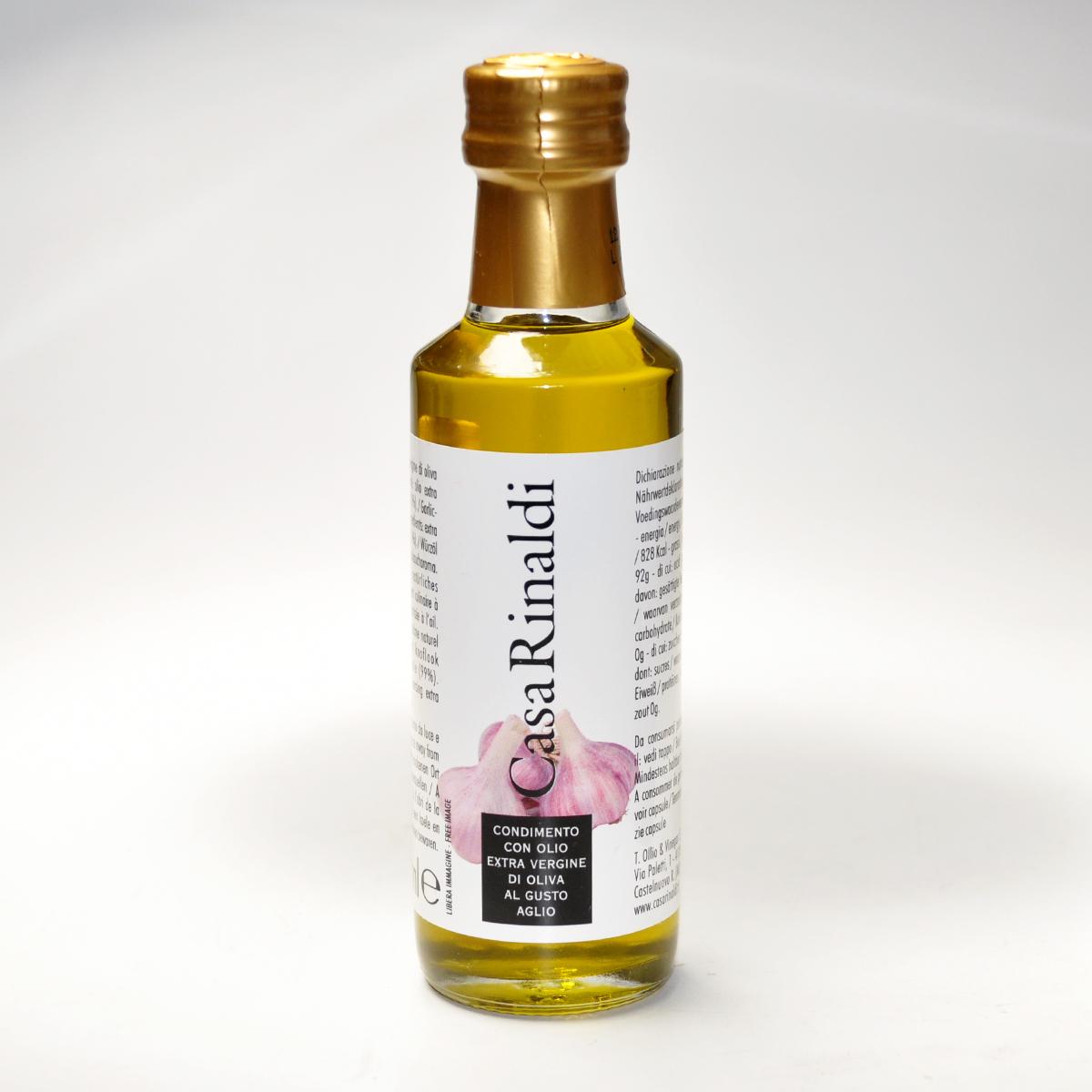 Масло оливковое EV  с чесноком