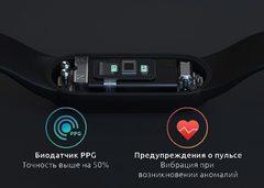 Браслет Xiaomi Mi Band 5 Black (черный)