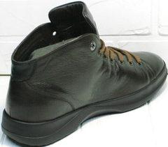 Осенние кеды ботинки мужские Ikoc 1770-5 B-Brown.