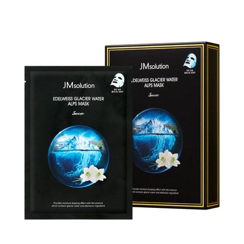 JMsolution Маска для лица целлюлозная с экстрактом эдельвейса и ледниковой водой Альп JMsolution EDELWEISS GLACIER WATER ALPS MASK SNOW 30 мл