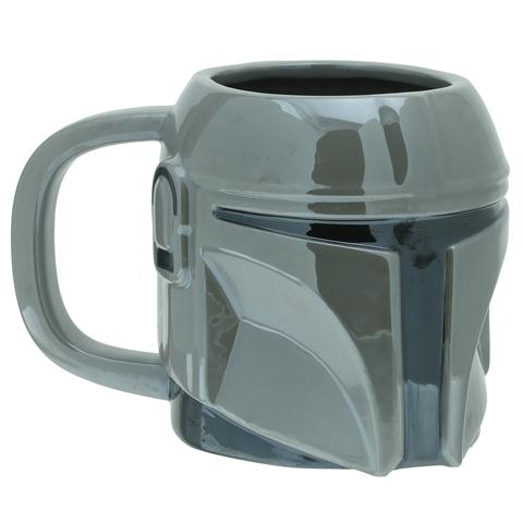 Кружка 3D SW Mandalorian The Mandalorian Shaped Mug 650ml PP7343MAN
