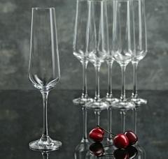 Набор бокалов для шампанского из 6 шт. Sandra, 200 мл, фото 2