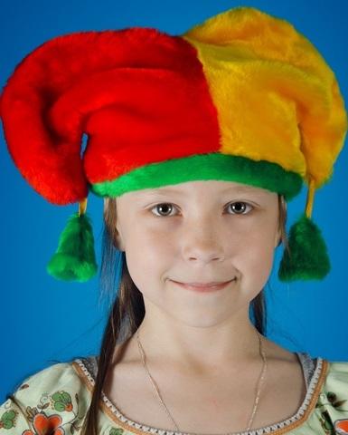 Карнавальная шапочка Петрушка