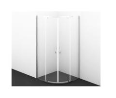Душевой уголок WasserKRAFT Leine 35P01, 90х90, с распашными дверьми
