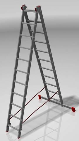 Лестница двухсекционная Новая высота 2х11