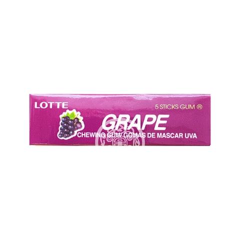 Жевательная резинка Lotte Gum Grape 12,5г Корея