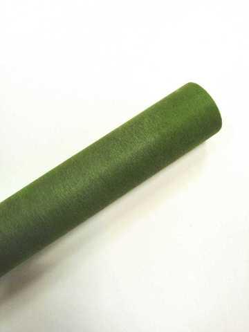 Фетр флористический (50см*12м) Китай цвет зеленый №047