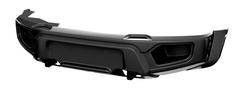 Бампер АВС-Дизайн передний UAZ Патриот/Пикап/Карго 2005- лифт (БАЗОВЫЙ, без оптики)(черный)