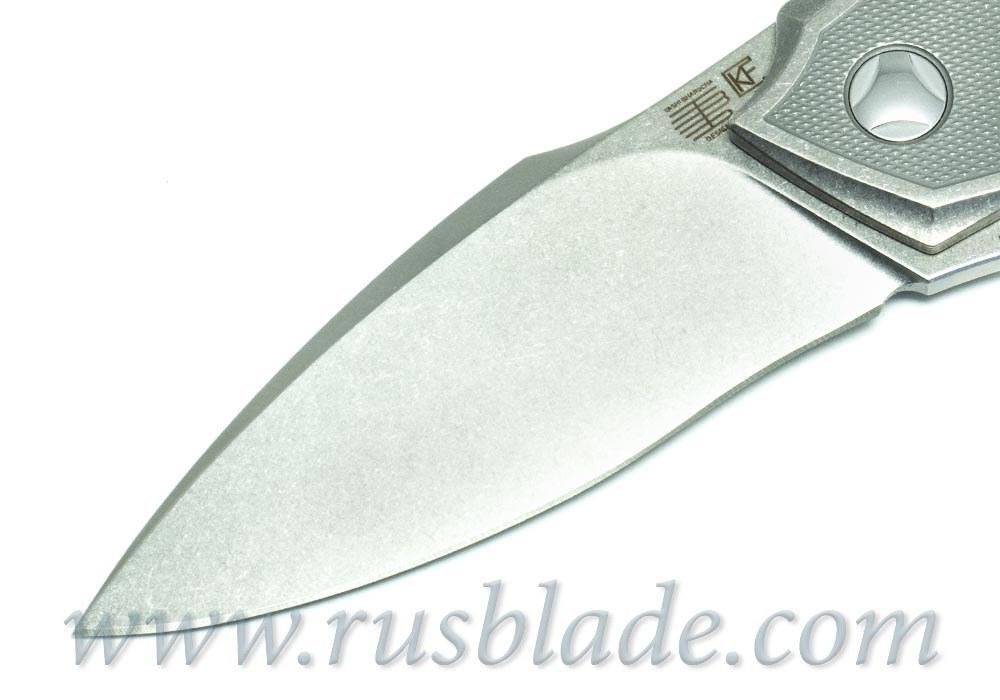 Muscle CKF and Tashi Bharucha NEW Knife Limited - фотография