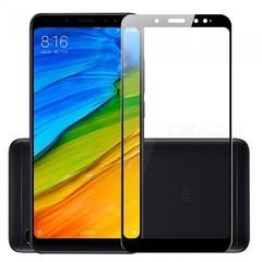 Защитное стекло 2.5D Xiaomi Redmi Note 5 / Note 5 Pro (Черное)
