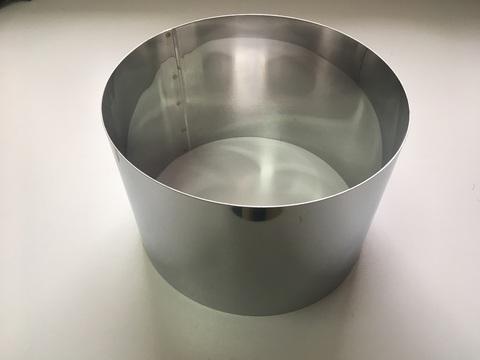 Кольцо-резак для торта H15 D22, нерж. сталь