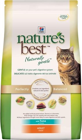 Hill's NB сухой корм для кошек (тунец/овощи) 2кг