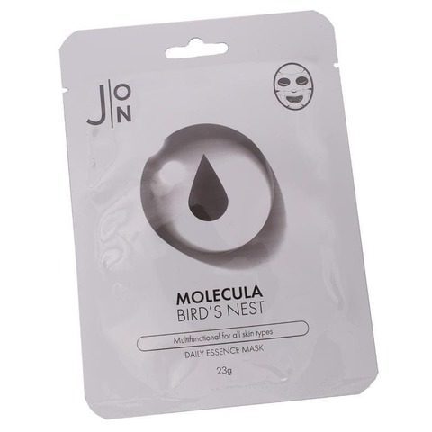 Тканевая маска для лица ЛАСТОЧКИНО ГНЕЗДО J:ON Molecula Bird`s  Nest Daily Essence Mask, 23 ml