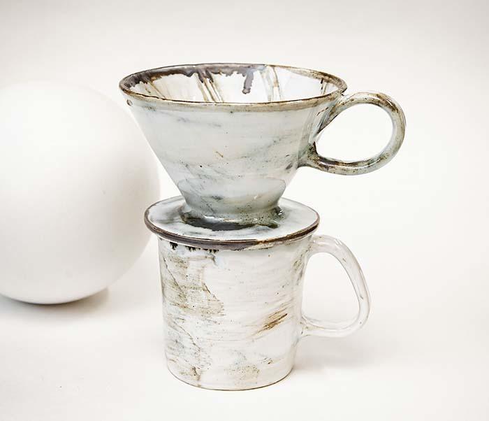 PUR117-1 Керамическая воронка  дриппер для кофе «Пуровер» фото 07