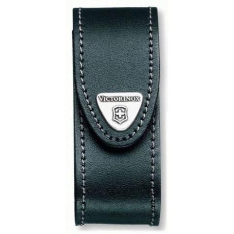 Чехол Victorinox 4.0520.31, черный, с поворотным клипом (для ножей длиной 91мм)
