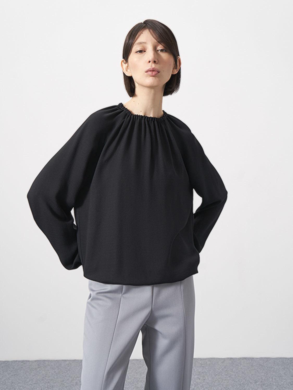 Блуза Anabel со сборкой по горловине