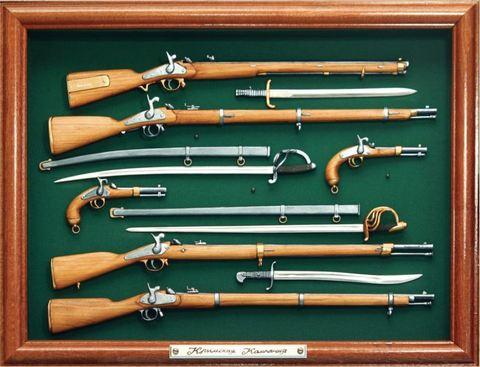 19 century Russian-Turkish war rifle