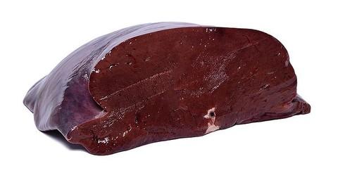 Печень говяжья 1кг